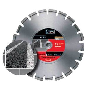 DIEWE  Δίσκος κοπής ασφάλτου Φ400mm D145 σε 12 Άτοκες Δόσεις