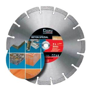 DIEWE  Δίσκος κοπής μπετού Φ400mm  D132 σε 12 Άτοκες Δόσεις